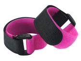 Microheli Velcro Strap 200 x 20mm With Bracket 2PC (PINK / BLACK)