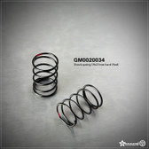 Gmade GM0020034 Shock Spring 19x27mm Hard Red (2)