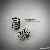 Gmade GM0020033 Shock Spring 19x20mm Hard Red (2)