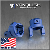 Vanquish VPS02864 Blue Anodized 8 Degree C-Hubs Axial SCX10