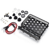 Yeah Racing 1/10 Rock Crawler Metal Wire Luggage Tray Type B w/4 White Lights