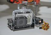 PhantoMounts DJI F450 X2 CARBON FIBER WIDE 2 AXIS GIMBAL W/SERVOS