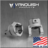 Vanquish VPS02866 Grey Anodized 8 Degree C-Hubs Axial SCX10