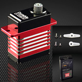 POWER HD D-03HV HV Coreless Motor 41.7 oz  / .045 Titanium Gear Digital Servo