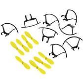 TxJuice AI Drone Spare Parts Set Propellers ( 8 )