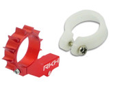 Rakon Heli CNC 6mm Tail Motor Mount w/ Delrin Protection Red