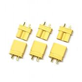 Maclan MCL4129 XT30U connectors (3 Female + 3 Male)