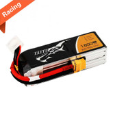 Tattu 4S 1800mAh 14.8V 75C 4S1P Racing Lipo Battery Pack w/XT60 Connector