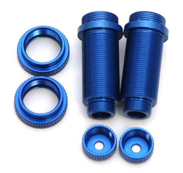 STRC ST3765XB Aluminum Front Shock Body Set Blue Traxxas Slash 2WD / 4x4