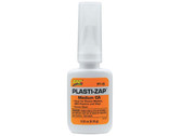 Pacer Zap Adhesives Plastic Zap CA Glue 1/3 oz PT19