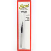 """Excel Blade EXL30412 SS Tweezer,4-3/4"""" Sharp"""
