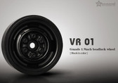 Gmade 1.9 VR01 beadlock wheels Black 2pcs GM70104