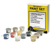 Woodland Scenics Trackside Scenes Paint Set M125