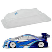 Protoform 1505-30 LTCR Rubber Regular Weight Car Clear Body 190mm