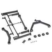 Pro-Line 6265-00 Extended Front & Rear Body Mounts for Stampede 4x4