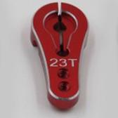 SAMIX SCX-6022K-V2-RD 23T Servo Horn Red : SCX10-2 / SCX10 / XR10 / EXO