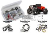 RC Screwz CEN028R CEN Racing Colossus XT Rubber Shielded Bearings Kit