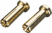 TrakPower TKPP5603 Gold Plated Bullet Connector Male 5mm (2)