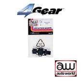 Auto World 4Gear Chassis Standard Frame Only (1) Pk : 1:64 / HO Scale Slot Car
