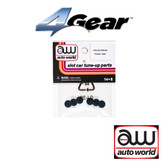 Auto World 4Gear Cluster Gear (6) Pack : 1:64 / HO Scale Slot Car