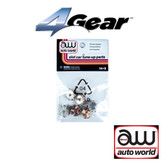 Auto World 4Gear Armature (6) Pack : 1:64 / HO Scale Slot Car