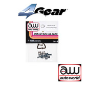 Auto World 4Gear Connector Plate (Right) (6) Pack : 1:64 / HO Scale Slot Car