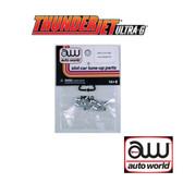 Auto World Thunderjet Front Wheel (Pair) 6 Pack : 1:64 / HO Scale Slot Car