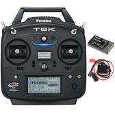 Futaba 6K V2 8-Channel Transmitter S-FHSS/T-FHSS Heli System w/ R3006SB Receiver FUTK6110