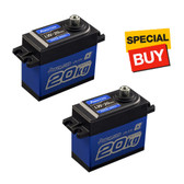 POWER HD DC Motor 277.7 oz / .16 Copper & Aluminum Gear Digital Servo (2)
