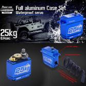 POWER HD LW-25MG DC Motor 6.0-8.4 DC Volts Copper & Aluminum Gear Digital Servo