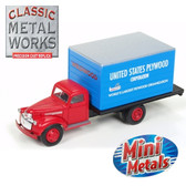 Classic Metal Works 30482 '41 Chevrolet Box Truck United States Plywood 1:87 HO