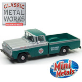 Classic Metal Works 30498 Mini Metals '60 Ford F-100 CONOCO Service 1:87 HO