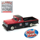 Classic Metal Works 30501 Mini Metals 1960 Ford F-100 Phillips 66 Service 1:87 HO