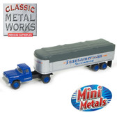 Classic Metal Works 31170 '60 Ford Covered Wagon Set Transamerican 1:87 HO