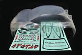 HoBao OP-0027N 1/8 On-Road Clear Body-Short : Hyper GTS
