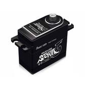 POWER HD STORM-5 HV Brushless 249.9 oz / .066 Titanium Gear Digital Servo Black