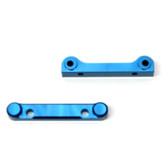 STRC Alum Heavy Duty Frt & Rr Hinge-Pin Block Set Blue (1 pair) : Granite / Raider / Vorteks