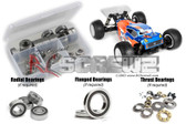 RC Screwz TEK018R Tekno ET410 Truggy 1/10th Rubber Shielded Bearing Kit