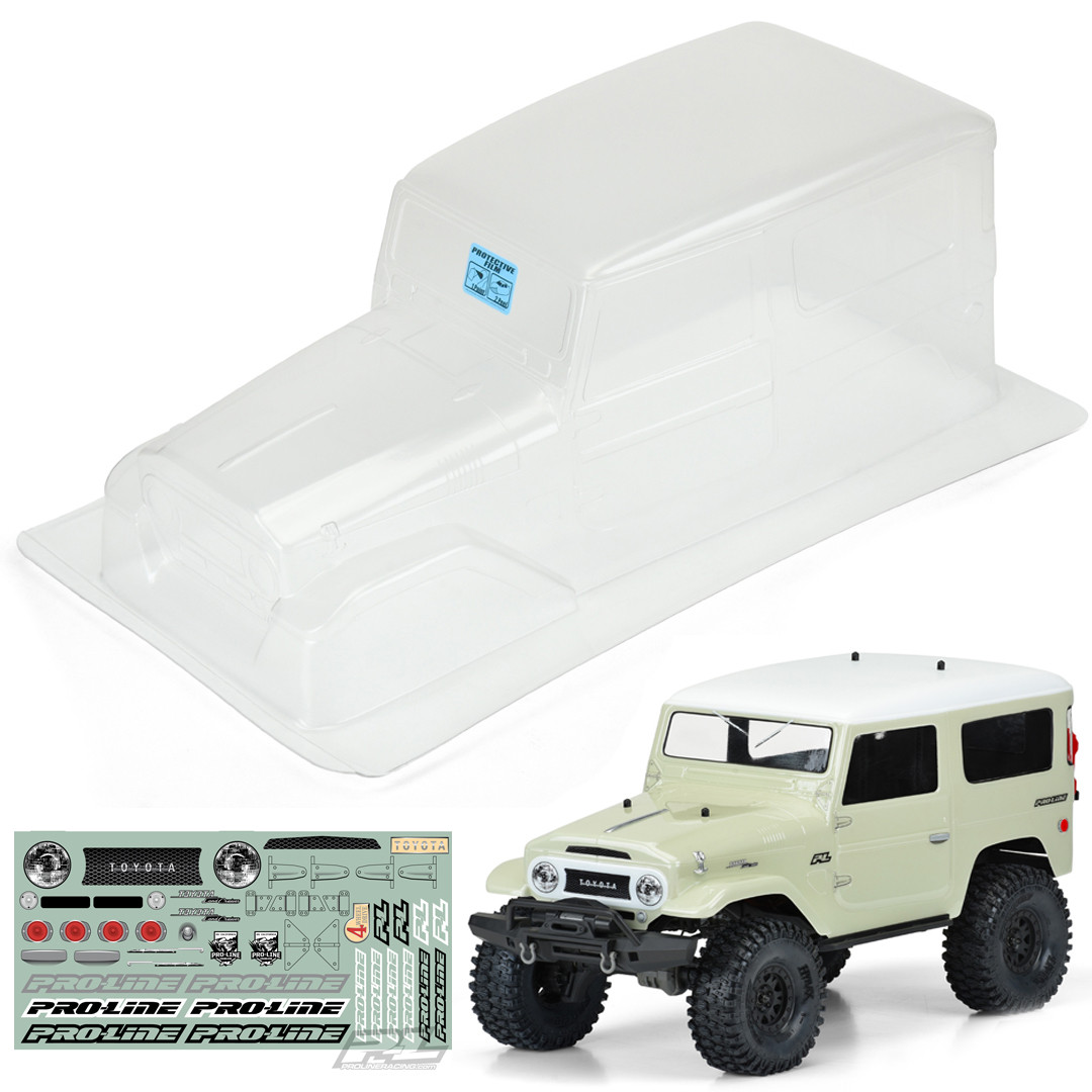 Pro-Line 3508-00 1965 Toyota Land Cruiser FJ40 Clear Body 12 8