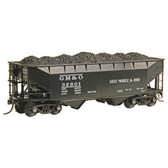"Kadee #7521 Gulf Mobile & Ohio Road #32801 50 Ton AAR ""Standard"" Open Bay Hopper : HO Scale"