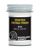 Woodland Scenics M126 Pewter Patina Finish 0.625 fl oz  All Scales