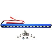 Nitro Hobbies 1/10 Aluminum White Super Bright LED Light Bar w/ Short Mount Blue