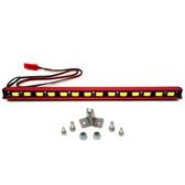 Nitro Hobbies 1/10 Aluminum White Super Bright LED Light Bar w/ Short Mount Red