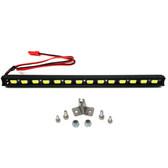 Nitro Hobbies 1/10 Aluminum White Super Bright LED Light Bar w/ Short Mount Black