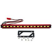 Nitro Hobbies 1/10 Aluminum White Super Bright LED Light Bar w/ Long Mount Red