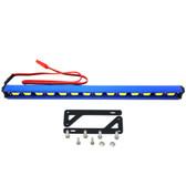 Nitro Hobbies 1/10 Aluminum White Super Bright LED Light Bar w/ Long Mount Blue