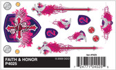 Woodland Scenics PineCar P4025 - Dry Transfer Decals - Faith & Honor All Scales