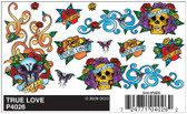 Woodland Scenics PineCar P4026 - Dry Transfer Decals - True Love All Scales