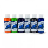 Pro-Line 6323-01 RC Body Airbrush Paint Secondary Color Set (6 Pack)