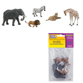 Woodland Scenics SP4446 African Wildlife Scene Setters Pkg (5) All Scales
